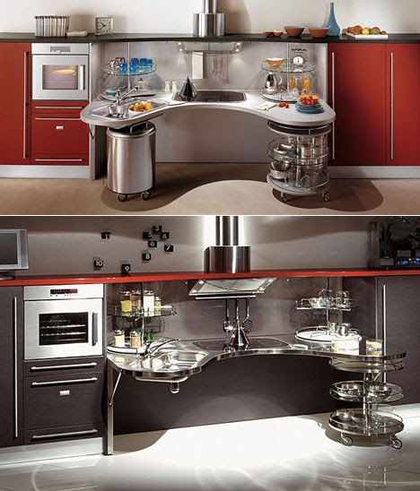 Kitchens Designed For Wheelchairs