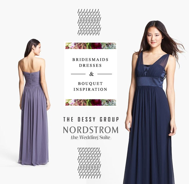 Nordstrom Wedding Guest Dresses: BRIDESMAIDS DRESSES + BOUQUET INSPIRATION FROM THE WEDDING
