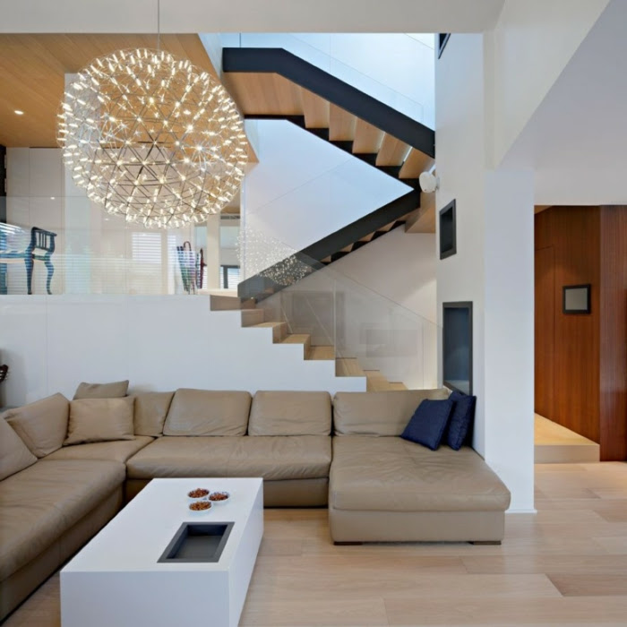 Wohnzimmerbeleuchtung oder wie man eine Zimmergestaltung ...