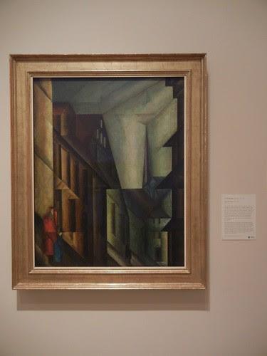 DSCN7823 _ Near the Palace, 1914-1915, Lyonel Feininger (1871-1956), Norton Simon Museum, July 2013