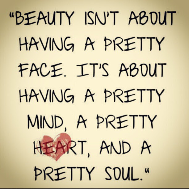 Beauty Comes From Within Change Your Mind Change Your Life