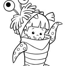 Dibujos Para Colorear Boo De Monstruos Sa Eshellokidscom