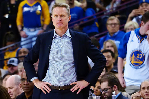 6709fbe5d Steve Kerr not concerned about Golden State Warriors  blowout loss to Lakers