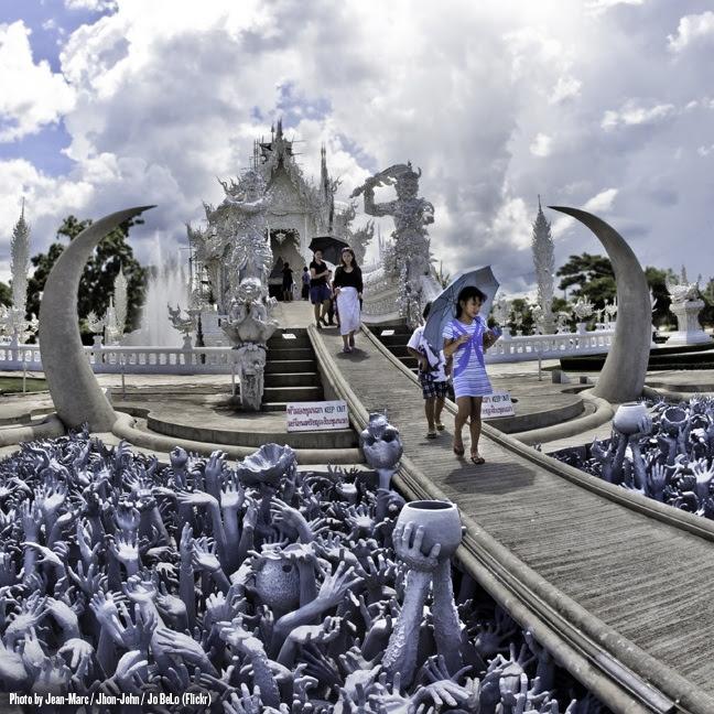 Ват Ронг Кхун (Белый храм), Таиланд. Нарака. Фото