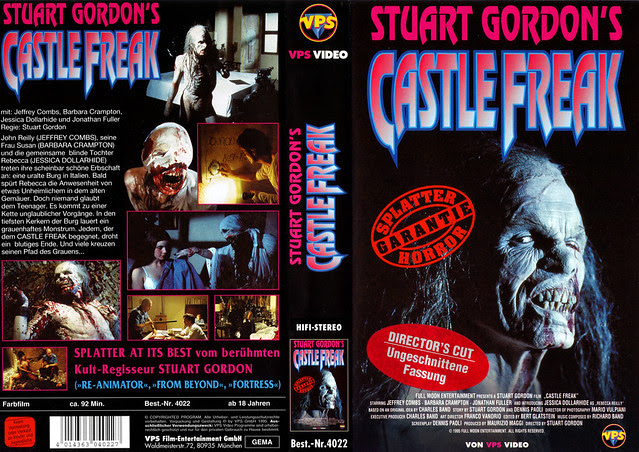 Castle Freak (VHS Box Art)