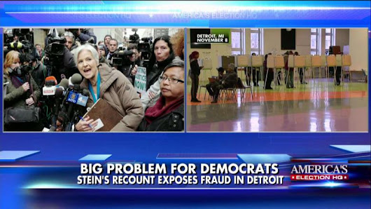 Oops! Stein's Recount Turns Up More Votes Than Voters in Detroit