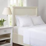 Intelligent Design - Ruffled Sheet Set - White - Cal King