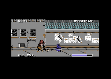 Ninja Warriors – Commodore64 – imagen 1