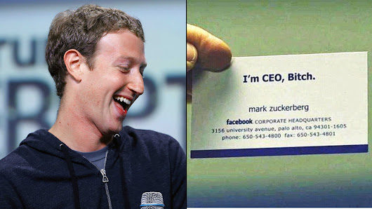 15 Famous People And Their Unique Business Cards