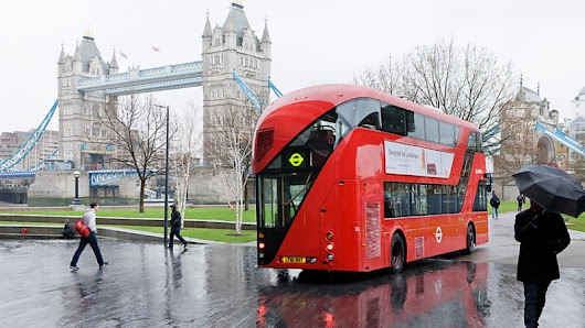 World's First All-Electric Double-Decker Bus for London - IndyaCars