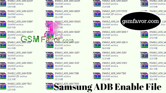 Latest Samsung ADB Enable File Pack 2017 Download For Easy FRP Reset