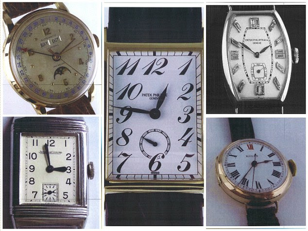Detectives are appealing for anyone who recognises either of the two men to come forward, as well as any antiques or watch dealers who may have been offered a rare model in recent weeks