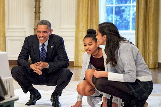 Glamour Exclusive: President Obama On Feminism and the World He Wants to Leave His Daughters
