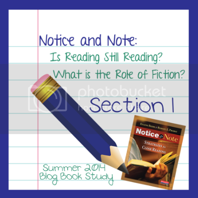 Notice & Note Book Club - Section 1