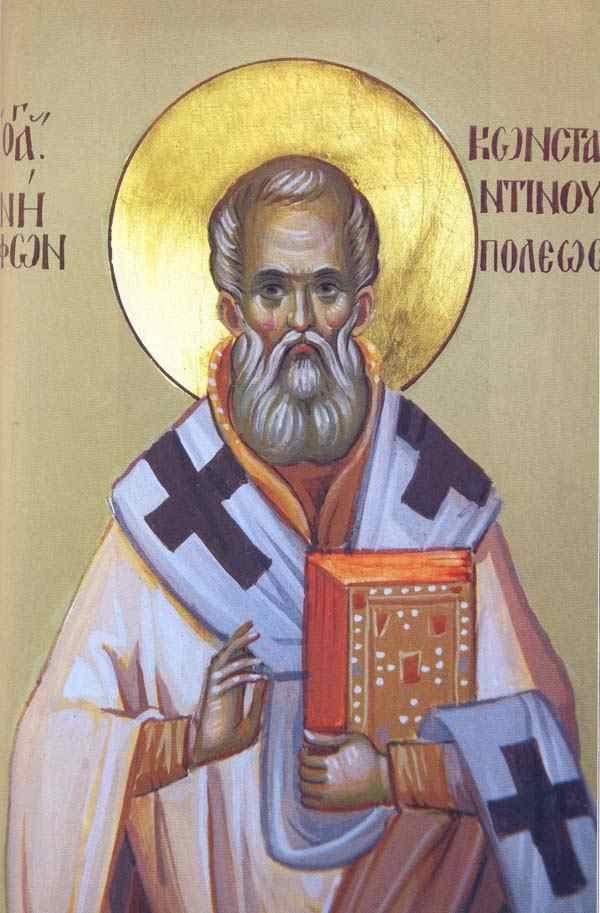 Αποτέλεσμα εικόνας για αγιος νηφων κωνσταντινουπολεως