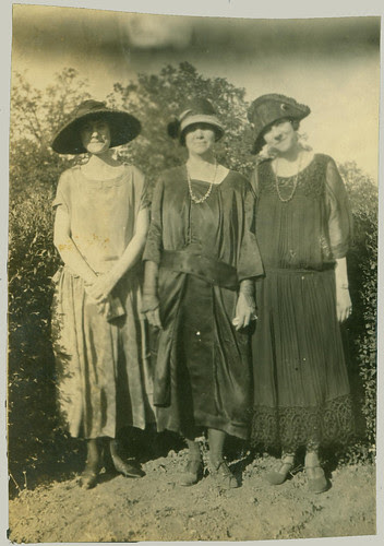 Three women in fashoin