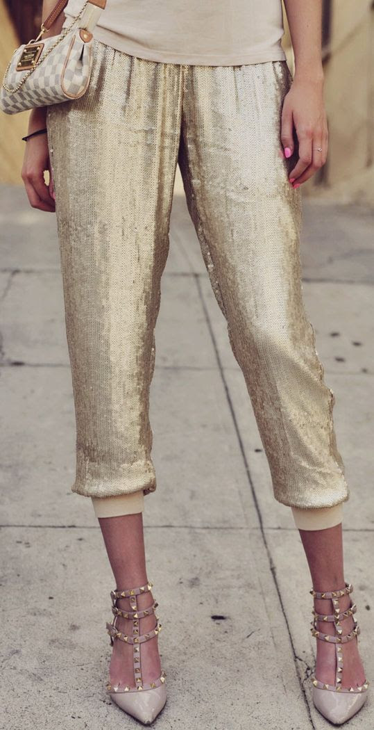 My Style Diary: Sequin Harem Pants | Fashion, Style, Lifestyle & Beauty Blog By Carly Cristman