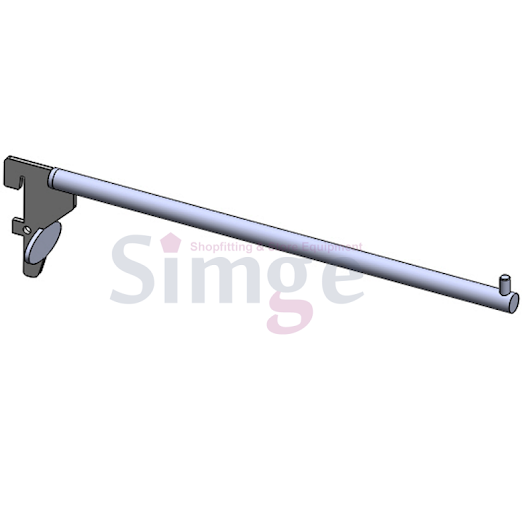 Lingerie Straight Arm For Concealed Aluminum and Steel Stripping