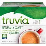 Truvia Cargill All Natural Sweetener Packets - Natural Sweetener - 80/