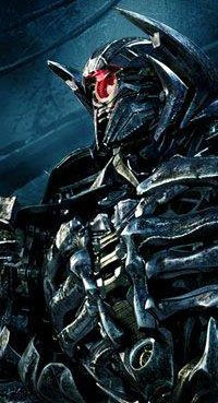 Shockwave...the main villain of TRANSFORMERS: DARK OF THE MOON.