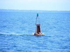 Sea Buoy at Livingston, Guatemala - DSCF2400
