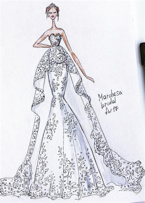 168 best Fasion Illustration: Wedding Dress images on