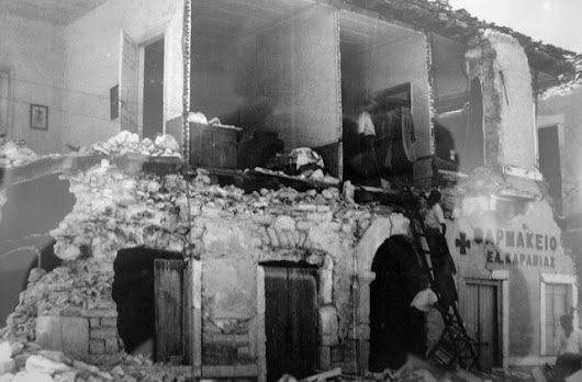 Remembering the 1953 Kefalonia Earthquake Disaster | Paul Dillon