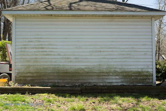 How To Clean Siding Without A Power Washer! - Bigger Than the Three of Us