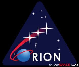 The ORION logo that will be used by NASA on future Crew Exploration Vehicle missions.