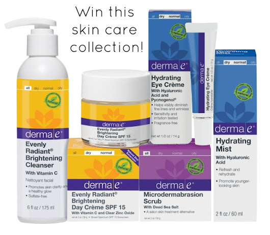Derma e Spring Beauty Collection Giveaway! #Beauty #Giveaway #SkinCare
