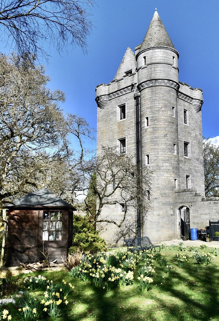 Loch Skene Castle And Grounds Aberdeenshire Scotland 2