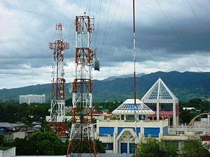 English: Zamboanga City Satellite Towers Smart...