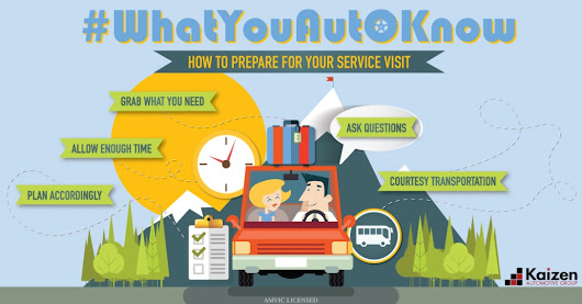 #WhatYouAutoKnow: What To Expect When Going In For Service