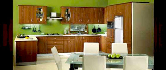 L Shaped Indian Kitchen Cabinets