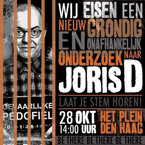 #Demmink demonstratie DenHaag 28-10 poster #projectDemmink