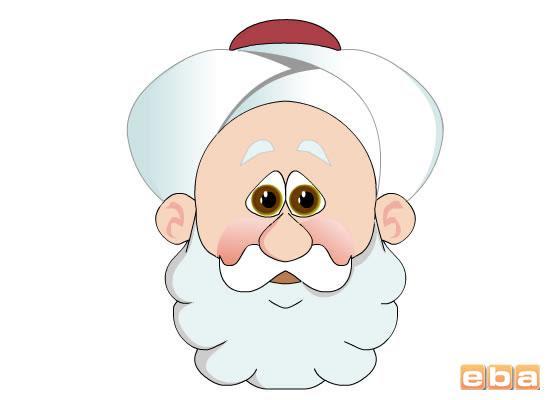 Komik Fipixde Nasreddin Hoca Boyama Sayfaları