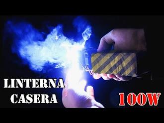 Como Hacer Ultra Potente Linterna de Bolsillo