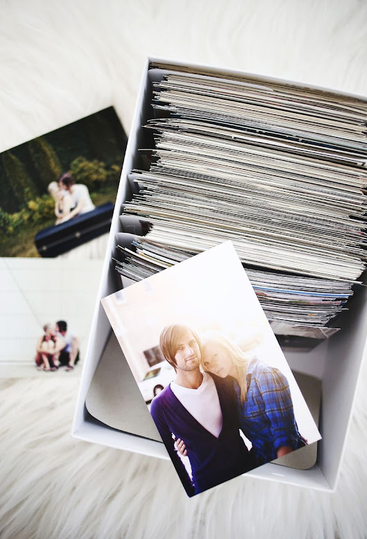 Tips for Organizing and Storing Photos - A Beautiful Mess