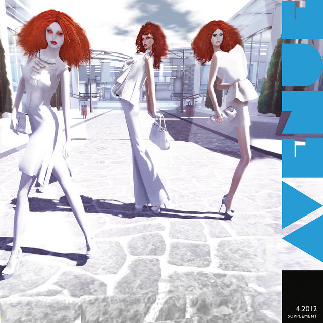 AVENUE Magazine April 2012 Exclusive - ZanzE