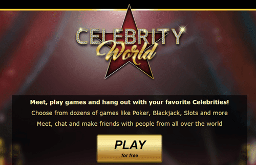 Celebrity World Casino Review - Social Games | Celebrities | Parties | Shopping