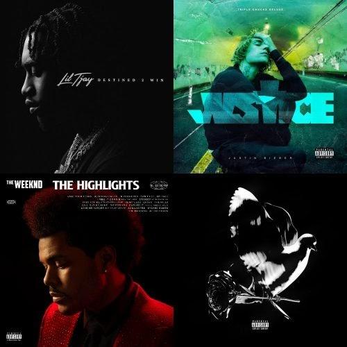 ALBUM SALES (week 14, 2021): Lil Tjay, Justin Bieber, The Weeknd, Pop Smoke & more!