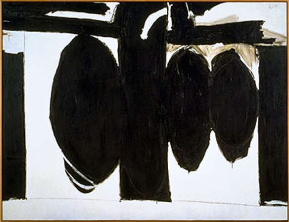 Robert Motherwell, Elegy to the Spainish Republic, No. 57, 1957-60