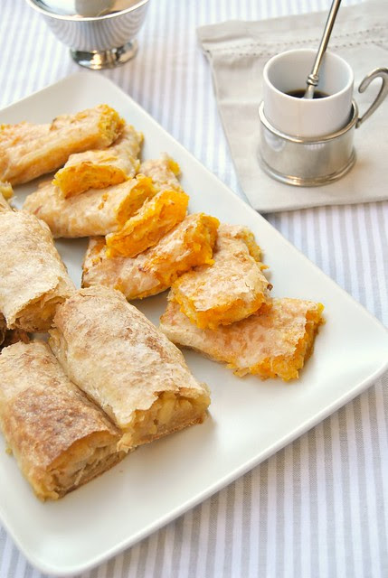 Apple and Pumpkin Strudel