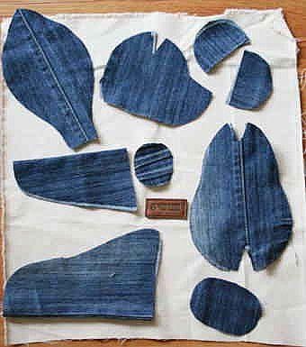 Шьем медведя из старых джинсов (2) (340x385, 106Kb)