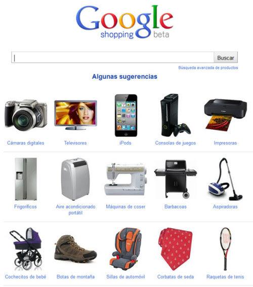 Google Shopping España Google Shopping ya es desde hace unos meses una realidad en el mercado español. Hasta ahora ha pasado más o menos desapercibido pero su inclusión en la columna izquierda del buscador de Google ha empezado a llamar la atención de los usuarios. Más información