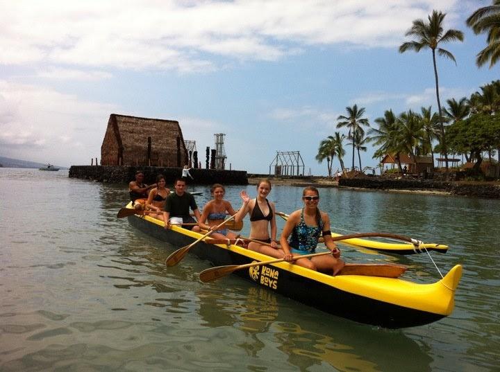 C Lion Outrigger Canoe Share Easy ride...