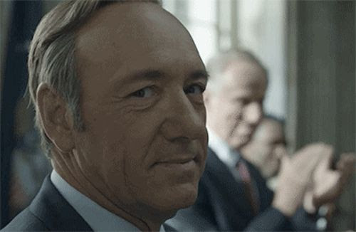 A Collection of House of Cards' Best Frank Underwood Side-Eye GIFs