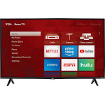 TCL 40S325 40 in. 1080p LED Roku Smart LED TV