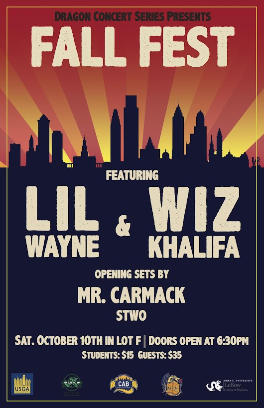 Fall Fest 2015 Featuring Lil Wayne, Wiz Khalifa and More!