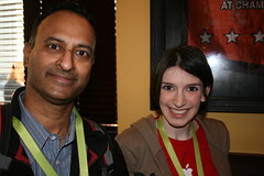 SXSW: Shashi Bellamkonda & Christina Warren ( film_girl)